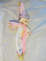 "Precious Moments Pajama Doll, Clown, Pink 22"" V... - $16.10"