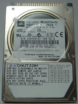 "Toshiba MK4025GASL HDD2195 40GB 2.5"" 9.5MM IDE 44PIN Hard Drive Our Driv... - $14.95"