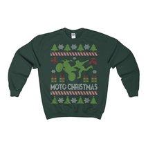 motocross ugly christmas sweatshirt - $29.95+