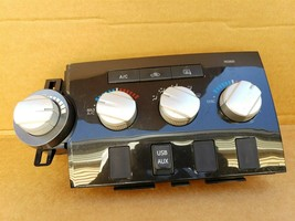 07-13 Toyota Tundra Air AC Heater Climate Control Blower Switch Panel Dash w/USB image 1