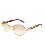 Vintage Round Sunglasses Men Carter Glasses Frame Fashion Eyewear Retro ... - $150.00