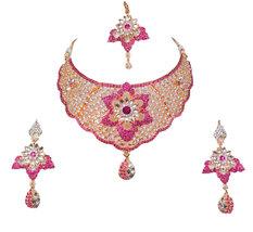 Buy now Zicsy discounted Jewelry CZ Amazing necklace set BOM83 - $34.99