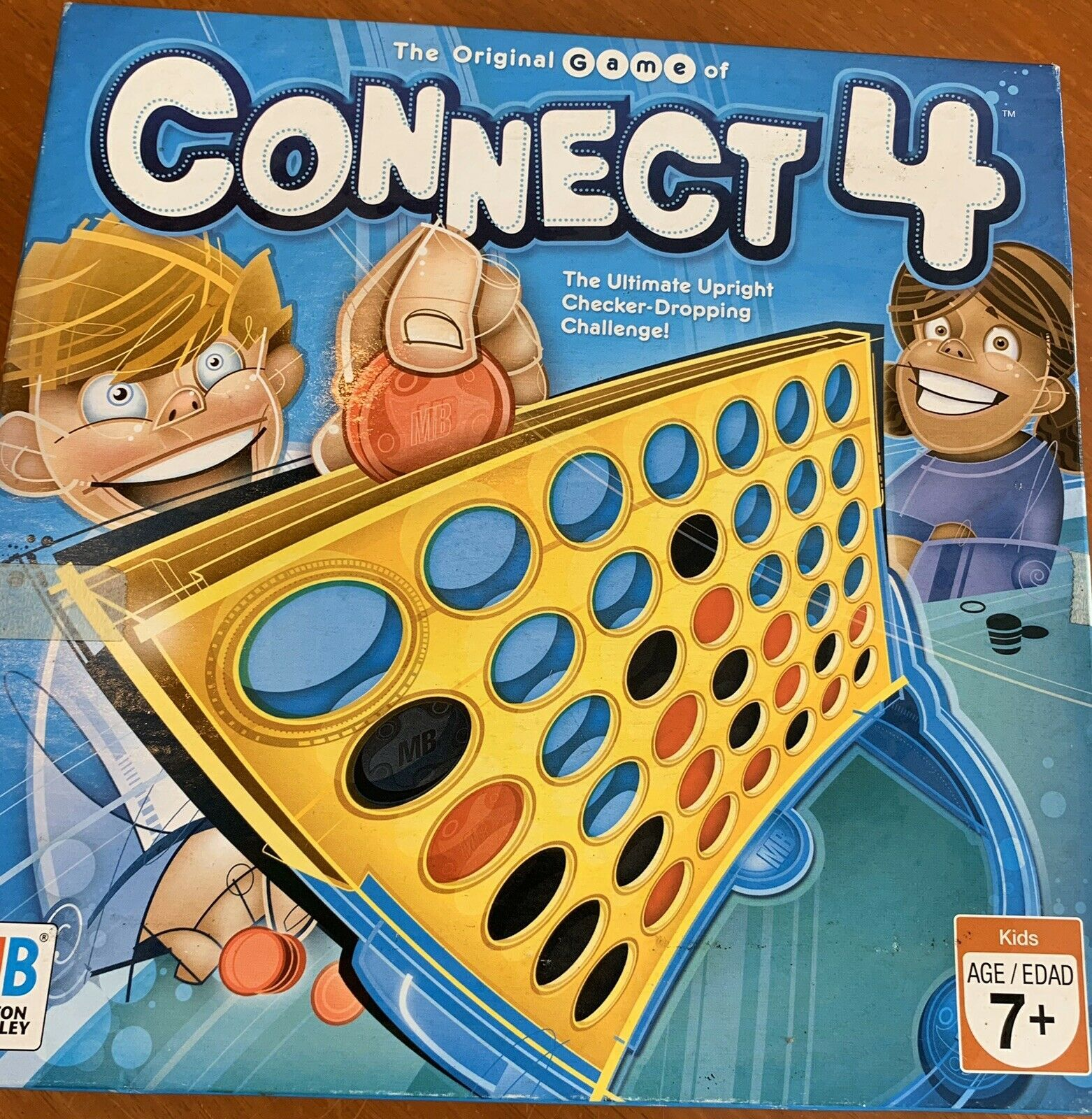 Primary image for connect 4 strategy board game for ages 6 and up