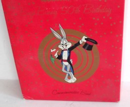 NEW Bugs Bunny 50TH Anniversary by Applause Ceramic Bank 1989 Warner Bro... - $24.99