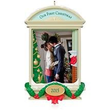 Hallmark Keepsake Ornament: Our First Christmas Together Photo Frame-Holder - $19.99