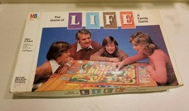 Vintage Milton Bradley 1979 The Game of Life Board Game  - $19.75