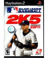 PlayStation 2 - Major League Baseball 2K5 - $5.90