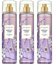 3-Pack Bath Body Works FRESH CUT LILACS Fine Fragrance Mist Spray 8 fl.oz - $32.37