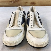 Pro Keds Vintage Dead Stock New Sneakers Shoes White Blue Women's Size 7 - $96.74