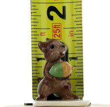 Hagen Renaker Miniature Chipmunk Squirrel Papa with Acorn Miniature Figurine image 2