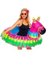 BigMouth Giant Pool Float PARTY PINATA 4' Wide NEW ~ Pool Fiesta Fun! Gr... - $38.42
