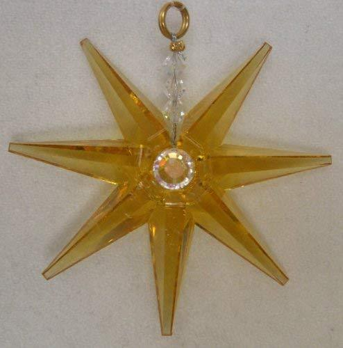 J'Leen 2 Inch Light Topaz Crystal Mystar