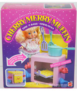 Vintage 1988 Mattel CHERRY MERRY MUFFIN TIME N BAKE TIMER OVEN Playset NEW NIB - $49.49