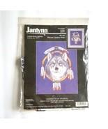 Janlynn Dream Catcher Wolf Cross Stitch Kit 02 448 1998 Aida 14 Ct Counted - $14.84