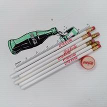 Coca-Cola Pencils, Sharpener, and Ruler Set - FREE SHIPPING - $8.90