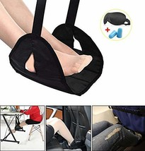 Airplane Footrest for Airplane Travel Office, Portable Hammock Footrest ... - $19.58 CAD