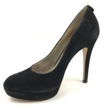 MICHAEL Michael Kors Black Suede leather High Heels Platform Shoes Size 7 M - $27.72