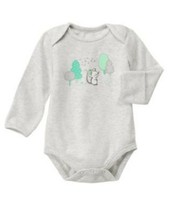 GYMBOREE NWT Newborn Essentials Sweet Mouse Unisex Long Sleeve Bodysuit ... - $12.86