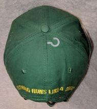 John Deere LP14418 Green Adjustable Baseball Cap With Leaping Deer Logo image 5