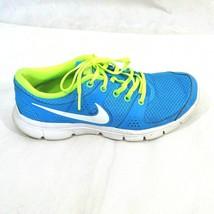 Nike Flex Experience Running Shoes Women Size 7.5 Blue Green Mesh 525754... - $19.79