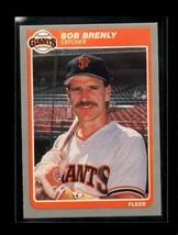 1985 FLEER #603 BOB BRENLY NM GIANTS - $0.99