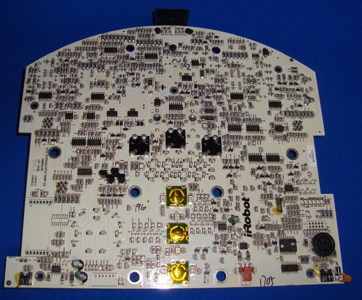 Primary image for iROBOT ROOMBA 530. REPLACEMENT PARTS MOTHERBOARD MAIN PCB MOTHERBOARD