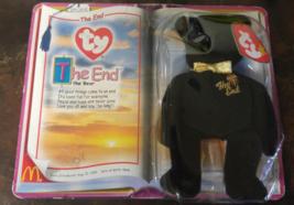 McDonalds: Ty Teenie Beanie Babies The End Bear 1999  - $7.50