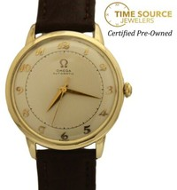 Omega Bumper Automatic Gold Filled Original Silver Dial 32mm Circa 1950s... - $800.00