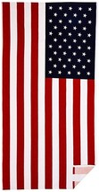 Patriotic American USA Flag Beach/Shower Towel - $25.00
