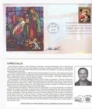 CHRISTMAS 2009 #4424 MADONNA SAN SIMEON CA 10/20/09 SIGNED BY ARTIST CHR... - $9.48