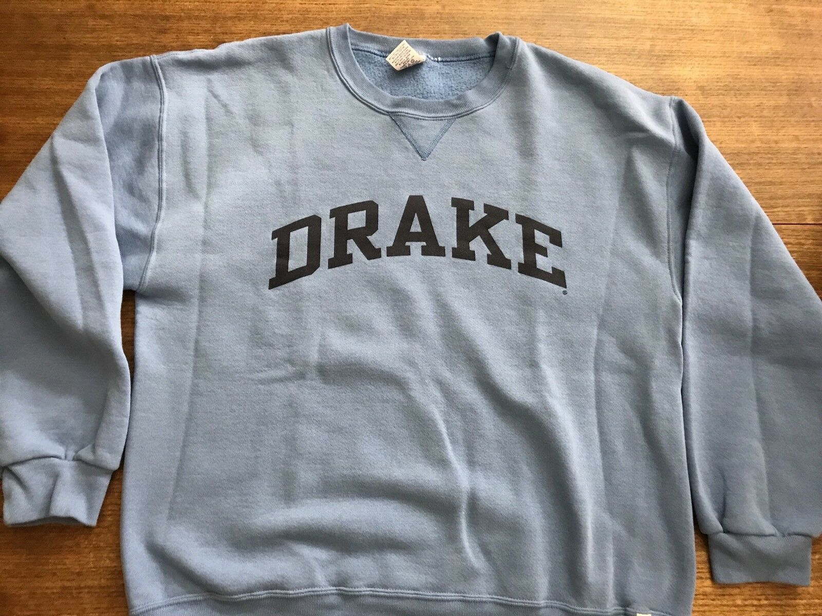 Primary image for DRAKE UNIVERSITY DES MOINES IOWA BULLDOG  SWEATSHIRT vintage large rare