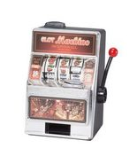 Small Slot Machine and Bank - $16.99