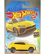 2020 Hot Wheels #213 HW Exotics 1/10 '17 LAMBORGHINI URUS Yellow w/Chrom... - $7.95