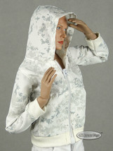 1/6 Phicen, TB League, Hot Toys, FG - Female White Camo Print Hoodie Jacket - $16.34