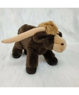 "9"" Vintage Russ Berrie Longhorn Tex Brown Standing Plush Stuffed Animal ... - $19.97"