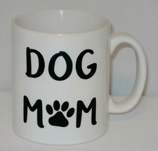 Dog Mom Mug Can Personalise Great  Animal Pet Lover Puppy Mum Walker Own... - $11.41