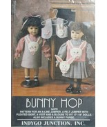 "Bunny Hop Pattern or 17-19"" Dolls by Indygo Junction - $12.86"