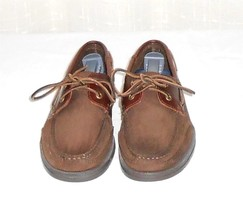 7 5 Size Suede Shoe W Men's Rockport Leather Deck Brown Boat Oxford q8AwzxTw1