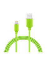 Reiko 30 Pcs Tangle Free Apple Ipad Air Usb Data Cable 3.3 Feet In Green - $50.05