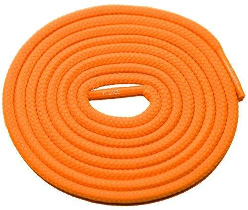 "Primary image for 54"" Neon Orange 3/16 Round Thick Shoelace For All Football Shoes"