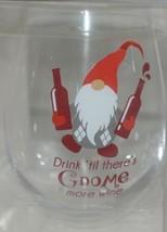 GANZ EX30173 The Stupendous Stemless Wine Glass Gnome 32 Oz image 1
