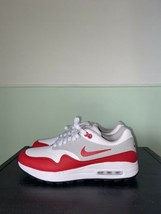 Nike Air Max 1 G White University Red Golf Shoes AQ0863-100 Size 10.5 - $99.00