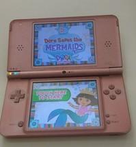 Nintendo DSi XL Metallic Rose Pink Handheld System w/Charger FREE Shipping! - $51.39
