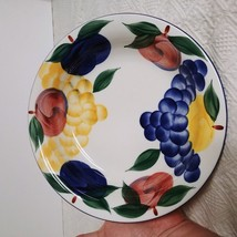 Dansk China large serving bowl with fruit 9 inches wide - $19.79