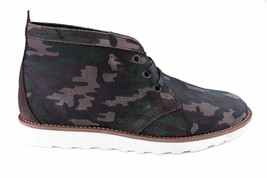 WeSc Lawrence Mid Top in Walnut Camo Shoes 8.5 US 41 EUR NIB image 2