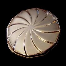 Double Mirror Compact Pinwheel Swirl Goldtone - $15.99