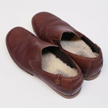 UGG Australia Brown Leather Insulated Women Slip-on Shoes Size 9 * - $44.44