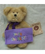 "Boyds Thinkin' of Ya TOPPS ""You're The BEST"" TEDDY BEAR 5"" Plush STUFFED... - $16.34"