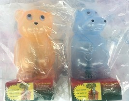 (2) Vintage Bear & Hippo Plant Feeders-NIP-Holds 12 oz of Water - $15.17 CAD
