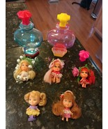 LOT 5 VINTAGE MATTEL 1967 KOLOGNE LIDDLE KIDDLES ROSEBUD LILY SWEET PEA ... - $138.50